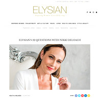 ELYSIAN MAGAZINE: Editorial Feature